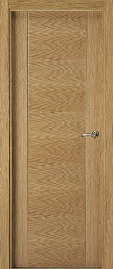 Puertas de madera modernas de Eurodoor ofrece un extenso catálogo de puertas de interior de estilo moderno. Puertas de paso lisas. Entre y elija.