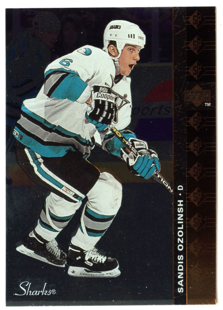 Sandis Ozolinsh # SP 73 - 1994-95 Upper Deck Hockey SP Inserts