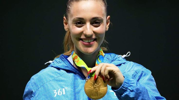 OLYMPIC DEBUTANT ANNA KORAKAKI TOOK GOLD IN THE WOMEN'S 25 METRE PISTOL EVENT ON 9 AUGUST IN RIO, JUST TWO DAYS AFTER WINNING GREECE'S FIRST EVER SHOOTING MEDAL IN THE 10 METRE AIR PISTOL.