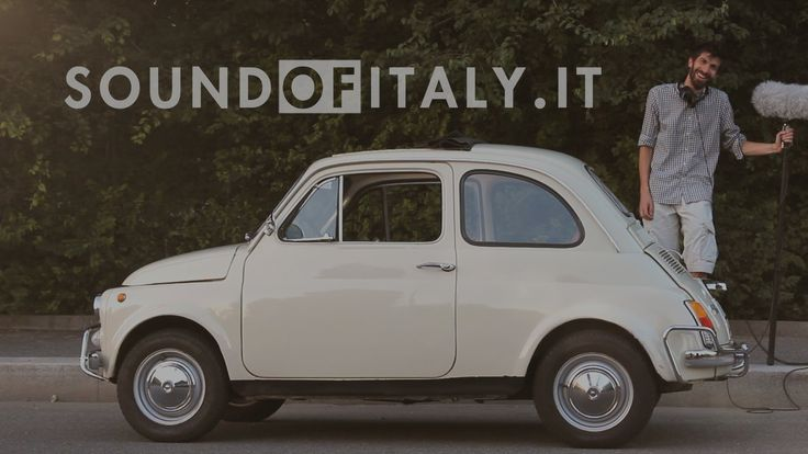Recording the sound of a 1972 Fiat 500L