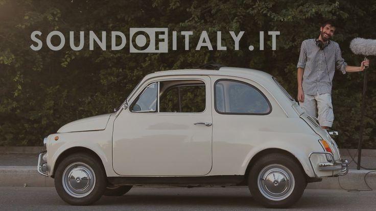 Recording the sound of a 1972 Fiat 500L