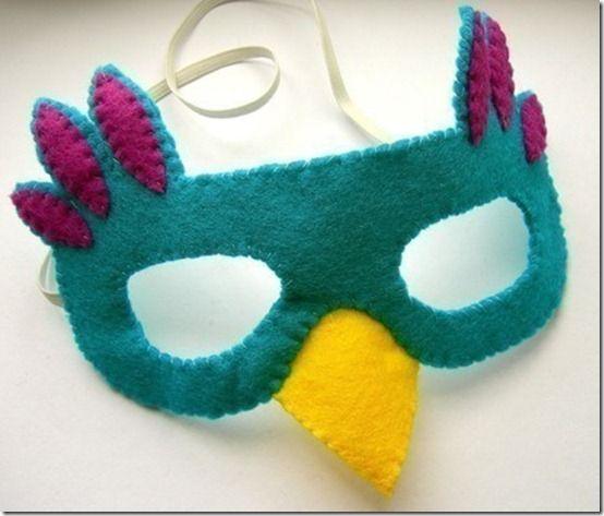 Como hacer una mascara de pajaro imagui - Como hacer una mascara ...