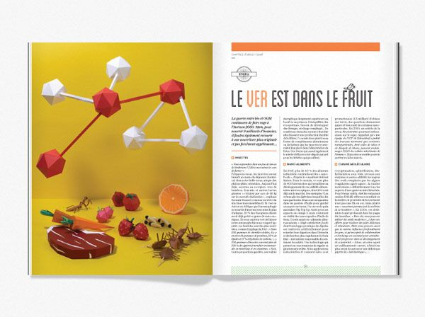 2043 - Book Art Direction and Layout #design #Magazine #Layout