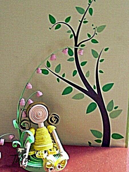 #talapaperquilling #paperart #craft #gift #art #jakartaolshop #jakartaonlineshop #handcraft #cute #customorder #jakarta #asia #indonesia #girl