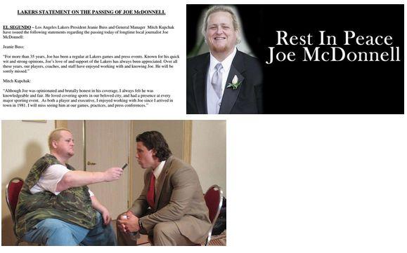 Joe McDonnell Dies