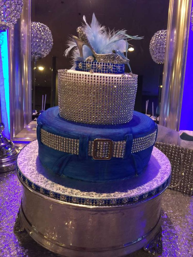 Diamonds and denim birthday party! See more party ideas at CatchMyParty.com!