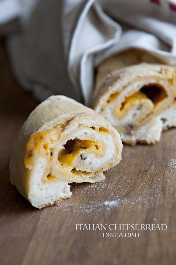 Food Is Love {Recipe: Italian Cheese Bread} - dineanddish.net
