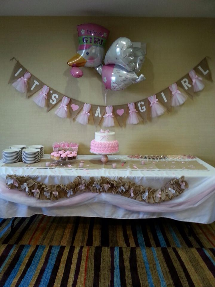 it s a girl burlap banner baby shower balloons pinte