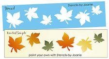 LG borda STENCIL queda bordo folhas Outono Harvest primitivo mercado arte sinais