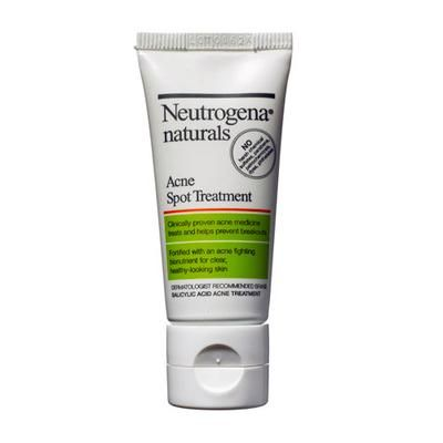 Best Acne Treatment: Neutrogena Naturals Acne Spot Treatment. This natural pimple fighter can zap a serious zit!