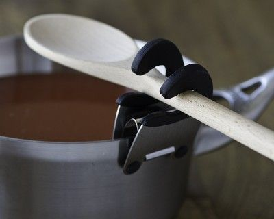 How brilliant is this? Utensil Holder Pot Clips #WilliamsSonoma