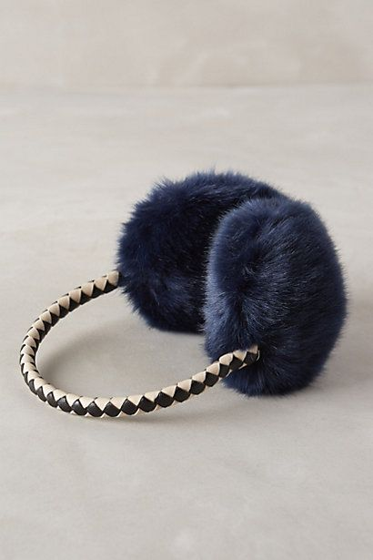 faux fur #earmuffs #anthrofave use code HOLIDAY25 for 25% off