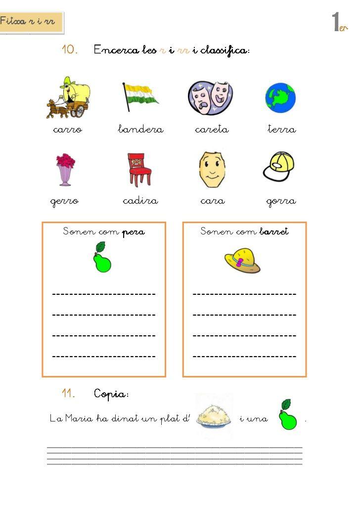 ortografia r rr català - Buscar con Google