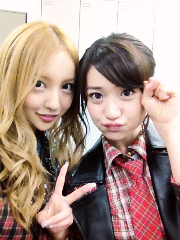 Tomochin and Yuko #AKB48