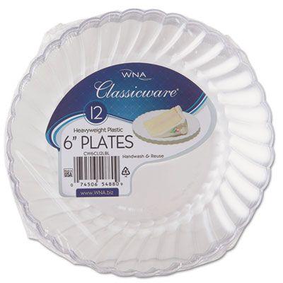 WNA RSCW61512 Classicware Plastic Dinnerware #RSCW61512 #WNA #Plates  https://www.officecrave.com/wna-rscw61512.html