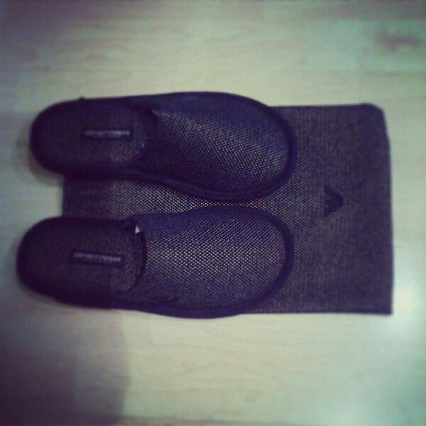 Armani pantofole