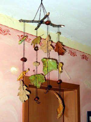 46 best images about autumn herbst on pinterest diys for Herbst mobile basteln kindern
