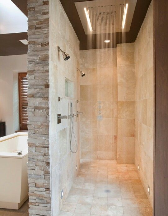 Two Shower Heads ... love it!!