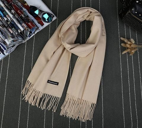 High Quality Scarves for Women - 15 Colors beige Scarves Women winter autumn fashion style products gift outfit accessories fall simple beautiful chic shops ideas  shop store sell buy online 2017 websites