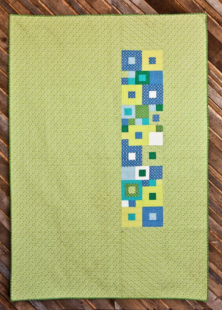 Baby Quilt Patterns Contemporary : 54 best quilt images on Pinterest Modern baby quilts, Modern quilt patterns and Baby quilt ...