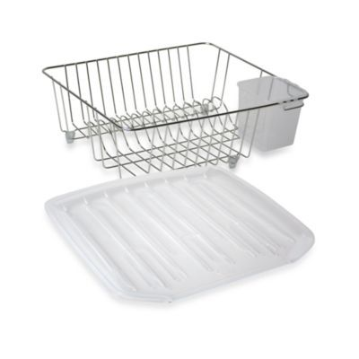 chrome small dish drainer