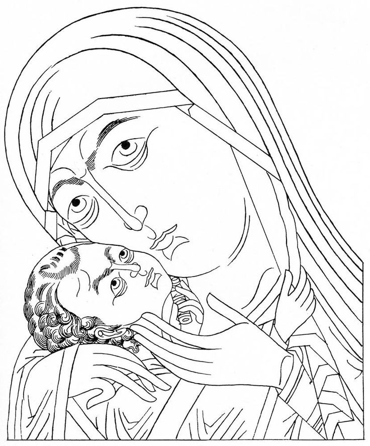 greek icon coloring pages - photo#21