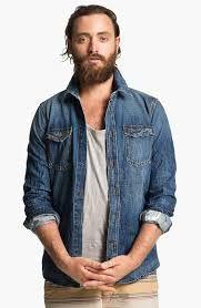 2410d6b1bc Como usar camisa jeans masculina. Um guia com dicas e estilos. - Guia Estilo