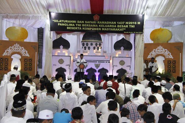 Panglima TNI : Keuletan Dapat Mewujudkan Cita-Cita