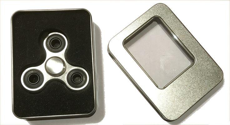 Silver Aluminium Alloy Fidget Spinner  #toysrusaustralia #lego #ltoys #toysale #lb #christmasaustralia #onlinetoys #legominifigures #sylvanian #legostagram