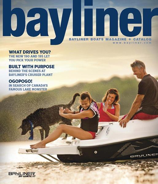 Bayliner Magalog - Spring of 2012  #boating #bayliner #magazine