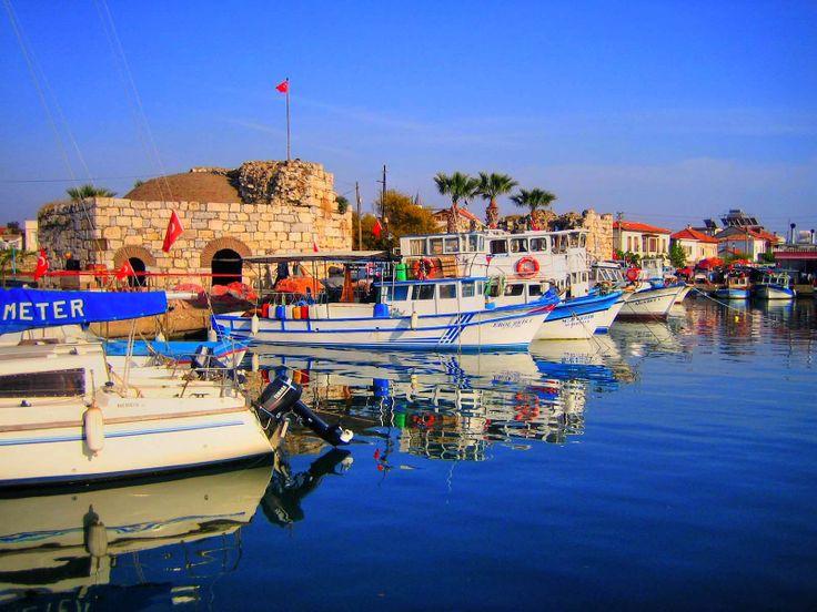 Boat Port in Seferihisar - İzmir, Turkey
