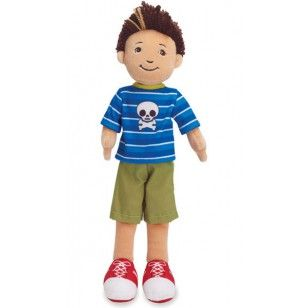 Bambola di Pezza Asher da Manhattan Toys. Rag doll Asher from Manhattan Toys