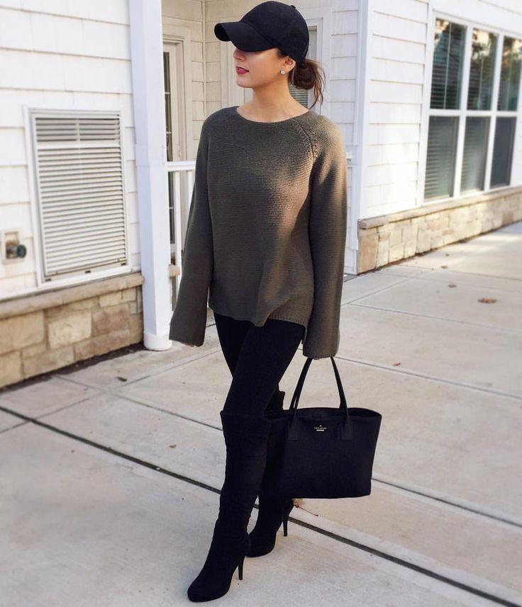 OOTD: Primark sweater, Kate Spade tote!