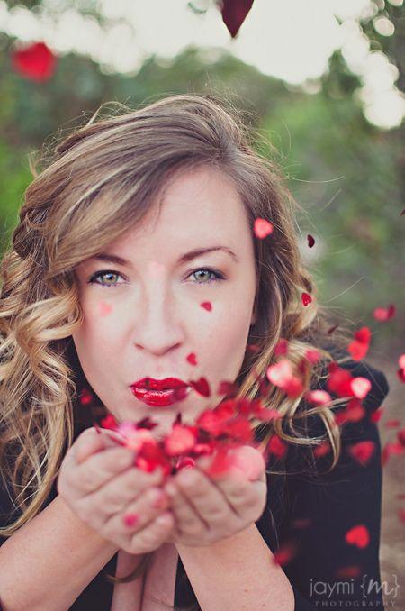 Valentine's Day Themed Portraits by Jaymi M Photography