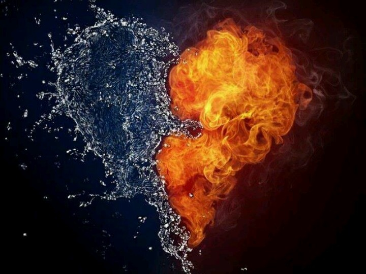 Heart of half Ice , half Fire | Crazy stuff | Pinterest ...
