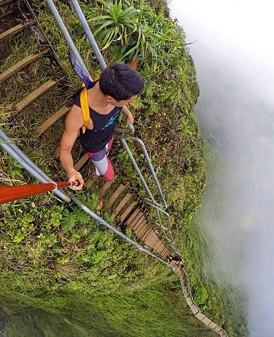 Stairs to Heaven, Oahu, Hawaii