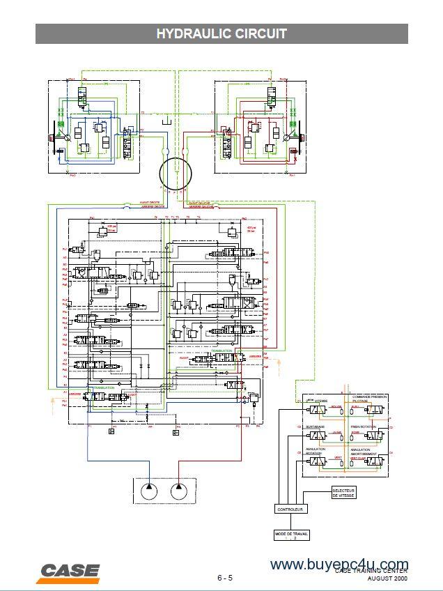 Case CX210 Hydraulic Excavator PDF Manual
