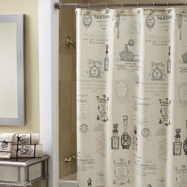 For Hall Bath Outside Of Bedroom Croscill Mademoiselle Shower Curtain