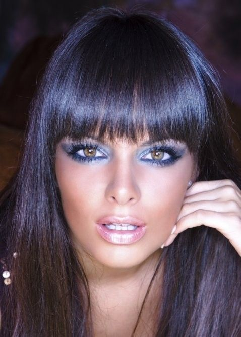 Marvelous 1000 Images About Blue Black Hair On Pinterest My Hair Rihanna Hairstyle Inspiration Daily Dogsangcom