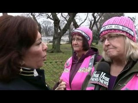 VIDEO : Judge Jeanine Tries to Reason With Angry Feminists at the Women's March – TruthFeed
