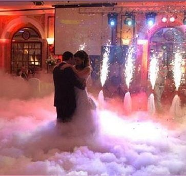 The Pic Is Like A Fairytalegroom And Bride Are Having Their First Dance Fog Glitter Just Gorgeous