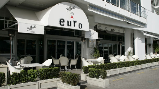 Euro, Auckland Viaduct.  Older, affluent set who hang out here.  Good for after work drinks on Friday, when they do complimentary platters of their gourmet bar snacks.