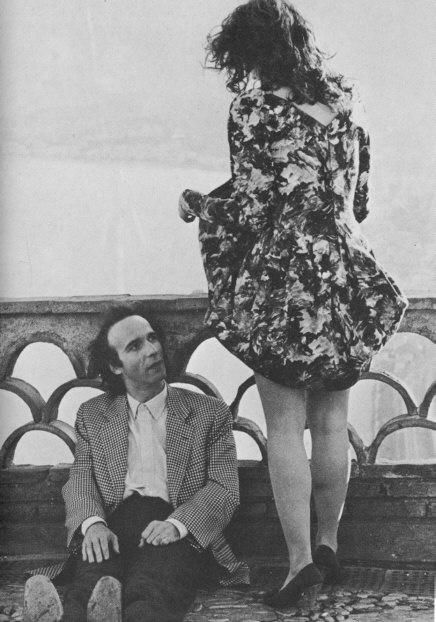 Roberto Benigni e Nicoletta Braschi (Giuditta e Nina - Il piccolo diavolo di Roberto Benigni)