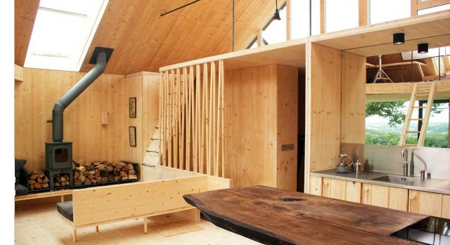 One of my favourite Grand Designs homes, cross laminated timber home in North Cornwall