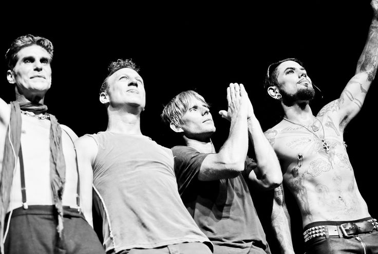 L-R: Perry Farrell, Stephen Perkins, Chris Chaney and Dave Navarro of Jane's Addiction. (Travis McGuire / LiveConcert / Handout)