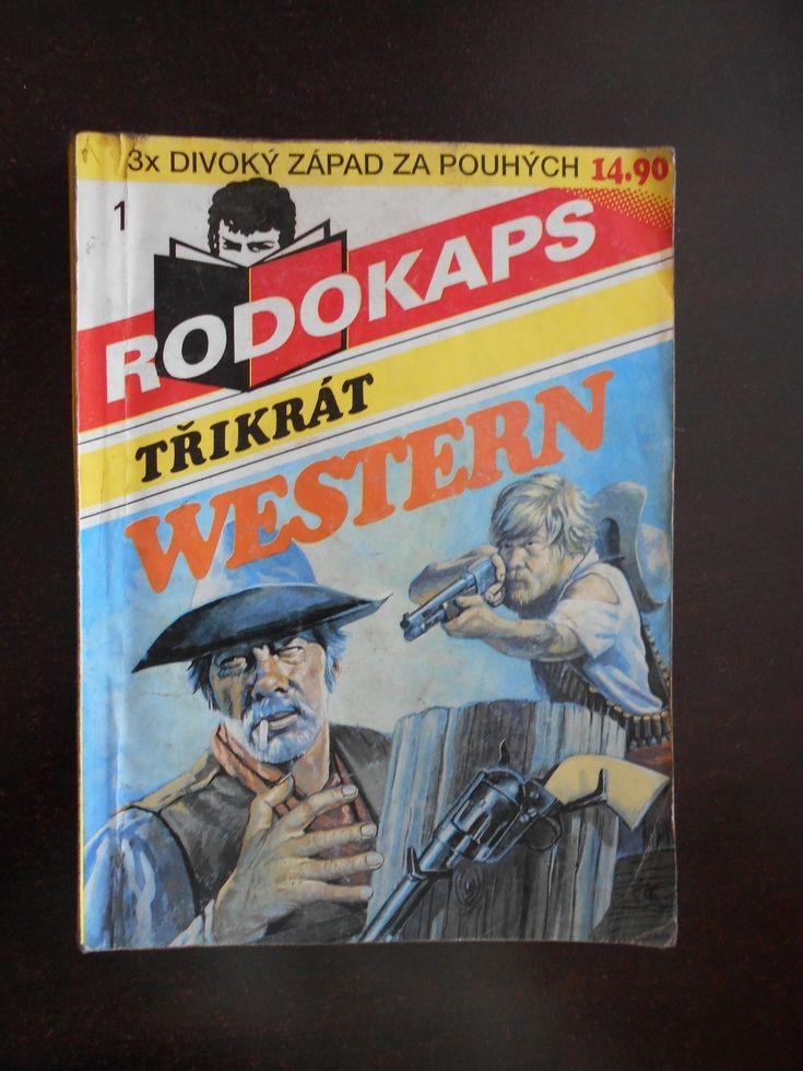 Rodokaps - Třikrát western 1