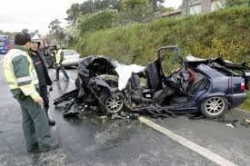 Resultado de imagen de fotos de coches accidentados