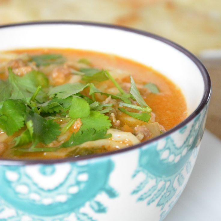 Coconut Curry Ramen Noodle Soup