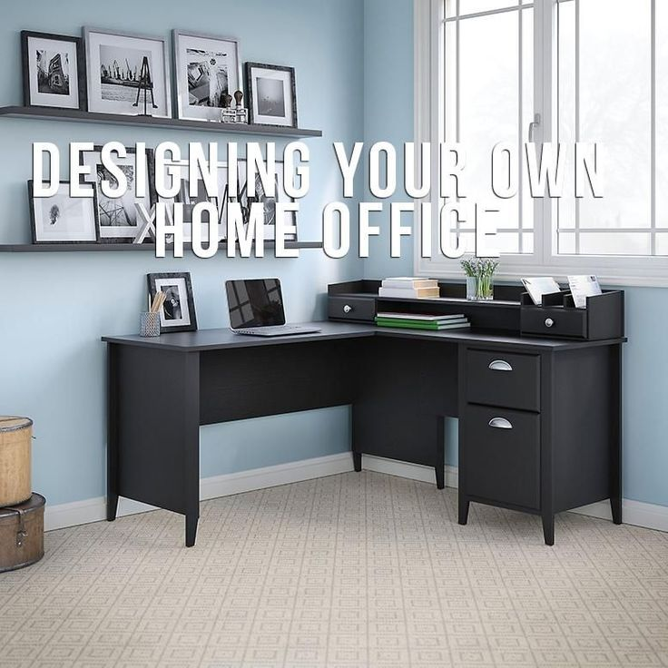 kathy ireland by Bush Furniture Connecticut 60 in  L Desk with Organizer. 45 best Office Desks images on Pinterest   Office desks  Home