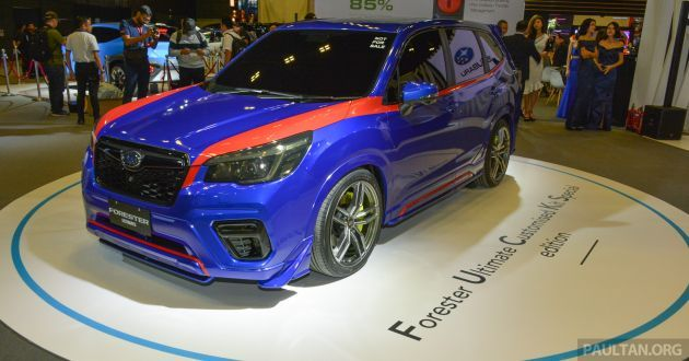 Subaru Forester Uck Special Edition Debuts In S Pore In 2020 Subaru Forester Subaru Tan Image